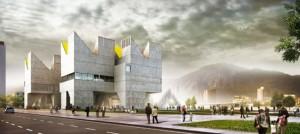 """Propuesta ganadora: """"Entre la Tierra y el Cielo"""" de la firma MGP Arquitectura & Urbanismo de Colombia y España."""