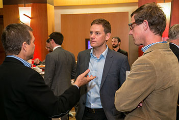 Author Charles Montgomery (center) at the 2013 ULI Terwilliger Center Housing Opportunity Conference in Seattle.