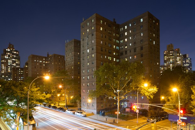 The Amsterdam Houses, Manhattan (David Schalliol/Affordable Housing in New York)